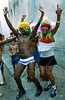 "Revelers participate at a ""Bloco"" neighborhood carnival street parade in Rio de Janeiro, Brazil, February 6, 2010. The Blocos are regaining popularity as the official carnival parades, where samba schools compete for the best parade, increases in price.<br />  (Austral Foto/Renzo Gostoli)"