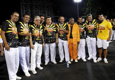 Ensaio tecnico Sao Clemente, Sambodromo, Rio de Janeiro, Brazil, Fevereiro 6, 2012. (Austral Foto/Renzo Gostoli)