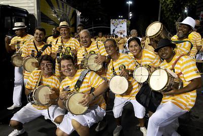 Ensaio Sao Clemente, Sambodromo, Rio de Janeiro, Brazil, Fevereiro 6, 2012. (Austral Foto/Renzo Gostoli)