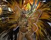 A dancer of Sao Clemente samba school performs at Sambadrome, Rio de Janeiro, Brazil , February 20, 2012. (Austral Foto/Renzo Gostoli)