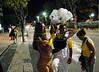 Members of Sao Clemente samba school prepare to participate at Samba schools parade at Sambadrome, Rio de Janeiro, Brazil , February 13, 2010.  (Austral Foto/Renzo Gostoli)