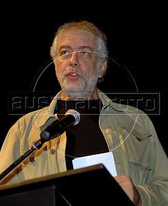 Festa de entrega dos Premios Cinema da ACIE 2009, Rio de Janeiro, Brazil, Maio 18, 2009. Antonio Bernardo.  (Austral Foto/Renzo Gostoli)