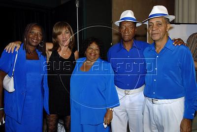 Festa de entrega dos Premios Cinema da ACIE 2009, Rio de Janeiro, Brazil, Maio 18, 2009. Alicia Pardies, Velha Guarda da Portela. (Austral Foto/Renzo Gostoli)