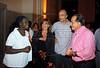 Zeze Barbosa, Alicia Martinez Pardies, Lerina e Tony Ramos na abertura da Mostra do Prêmio ACIE de Cinema 2009, Rio de Janeiro, Brazil, Maio 4, 2008. (Austral Foto/Renzo Gostoli)
