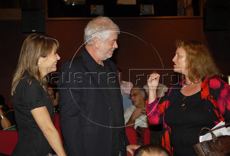 Bernardo e Diana Kinch na abertura da Mostra do Prêmio ACIE de Cinema 2009, Rio de Janeiro, Brazil, Maio 4, 2008. (Austral Foto/Renzo Gostoli)