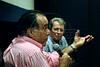Tony Ramos e Daniel Filho na abertura da Mostra do Prêmio ACIE de Cinema 2009, Rio de Janeiro, Brazil, Maio 4, 2008. (Austral Foto/Renzo Gostoli)