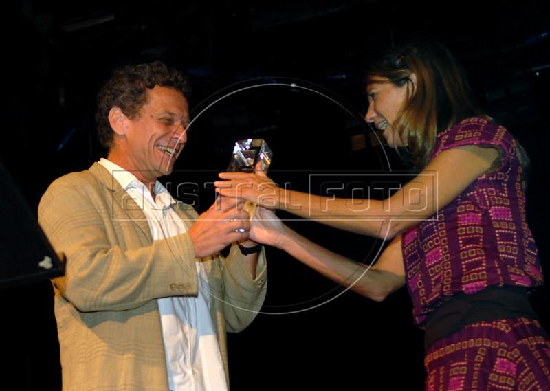 Festa de entrega dos Premio Cinema da ACIE 2009, Rio de Janeiro, Brazil, Maio 18, 2009. (Austral Foto/Renzo Gostoli)
