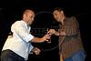 """Festa de entrega dos Premio Cinema da ACIE 2009, Rio de Janeiro, Brazil, Maio 18, 2009. Marcos Jorge de """"Estomago"""" (Austral Foto/Renzo Gostoli)"""