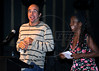 """Festa de entrega dos Premio Cinema da ACIE 2009, Rio de Janeiro, Brazil, Maio 18, 2008. """"Linha de Passe""""; Zezeh Barbosa. (Austral Foto/Andre Luiz Melo)"""