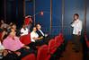 Marcelo Cajueiro e publico na abertura da Mostra do Prêmio ACIE de Cinema 2009, Rio de Janeiro, Brazil, Maio 4, 2008. (Austral Foto/Renzo Gostoli)