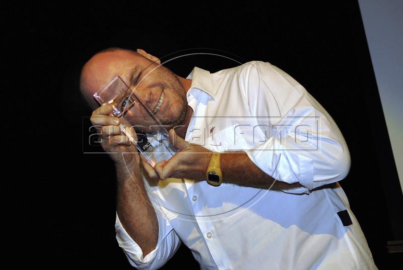 Festa de entrega dos Premio Cinema da ACIE 2009, Rio de Janeiro, Brazil, Maio 18, 2009. Marcos Jorge (Austral Foto/Renzo Gostoli)