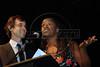 Festa de entrega dos Premios Cinema da ACIE 2009, Rio de Janeiro, Brazil, Maio 18, 2009. Martin Curi da ACIE e atriz Zezeh Barbosa. (Austral Foto/Renzo Gostoli)