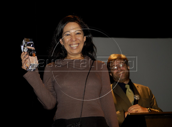 Premio ACIE de Cinema 2011- Nelza Oliveira, Rio de Janeiro, Brazil, May 30, 2011. (Austral Foto/Renzo Gostoli)