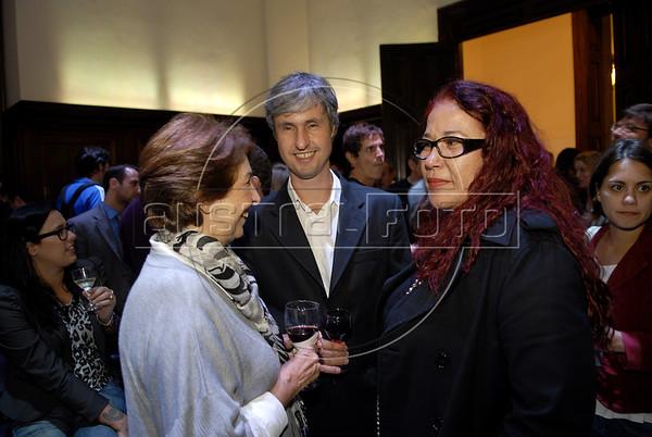 Premio ACIE de Cinema 2011- Cocktail, Rio de Janeiro, Brazil, May 30, 2011. (Austral Foto/Renzo Gostoli)