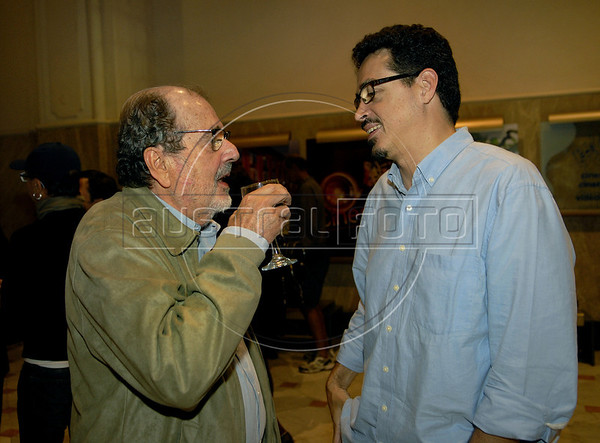 Premio ACIE de Cinema 2011-Caca Diegues, esq, e         , Rio de Janeiro, Brazil, May 30, 2011. (Austral Foto/Renzo Gostoli)