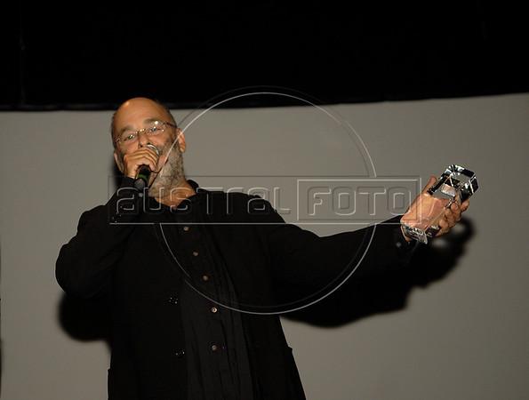 Premio ACIE de Cinema 2011- Jaques Moerelebaum, musico, Rio de Janeiro, Brazil, May 30, 2011. (Austral Foto/Renzo Gostoli)