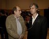 Premio ACIE de Cinema 2011- Caca Diegues esq, e Marcello Cajueiro, dir, Rio de Janeiro, Brazil, May 30, 2011. (Austral Foto/Renzo Gostoli)