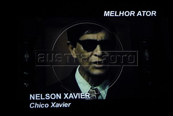 Premio ACIE de Cinema 2011- Imagem do ator Nelson Xavier no filme Chico Xavier, Rio de Janeiro, Brazil, May 30, 2011. (Austral Foto/Renzo Gostoli)