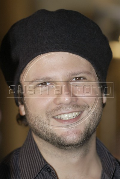 Selton Melo smiles after the presentation of the foriegn correspondents film awards in Rio de Janeiro. Melo was nominated for best actor.<br /> (Douglas Engle/Australfoto)
