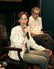 """Lais Bodansky, diretora do filme """"As melhores coisas do mundo"""", e Luiz Bolognesi, roteirista,  na abertura da Mostra do Prêmio ACIE de Cinema 2010, Rio de Janeiro, Brazil, Marco 15, 2010. (Austral Foto/Renzo Gostoli)"""