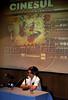 CINESUL-   I Seminário e Fórum de documentaristas latino-americanos: Jorge Luis Salgado do Equador, Rio de Janeiro, Brasil, Junho 26, 2008. (Austral Foto/Renzo Gostoli)