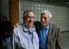 CINESUL-   I Seminário e Fórum de documentaristas latino-americanos: Orlando Senna (D), e Humberto Rios (E), Rio de Janeiro, Brasil, Junho 24, 2008. (Austral Foto/Renzo Gostoli)
