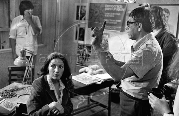 "Bolivian-Argentinian film director Humberto ""Negro"" Rios, Mex. DF, Mexico, 1984. (Austral Foto/Renzo Gostoli)"