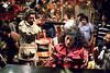 "Brazilian director Ruy Guerra, left, and greek actress Irene Papas prepare a scene of ""Erendira"" movie based on ""Candida Erendira History...""  of colombian Garcia Marquez, Mexico DF, Mexico, Dec. 1982 (Austral Foto/Renzo Gostoli)"