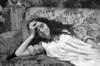 "Brazilian actress Claudia Ohana in the set of ""Erendira"" directed by brazilian Ruy Guerra based on ""Candida Erendira History..."" of colombian Garcia Marquez, Mexico DF, Mexico, Dec. 1982.  (Austral Foto/Renzo Gostoli)"