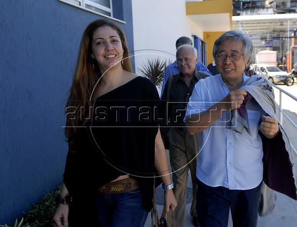 Mostra ACIE de Cinema 2011- Cristina Moura, Chizuo Osava, Rio de Janeiro, Brazil, May 21, 2011. (Austral Foto/Renzo Gostoli)
