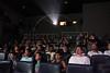 "Pople watch the ""4 x UPP"" film in the Cine Carioca movie theater in the Alemao slum in Rio de Janeiro. (Douglas Engle/Australfoto)"