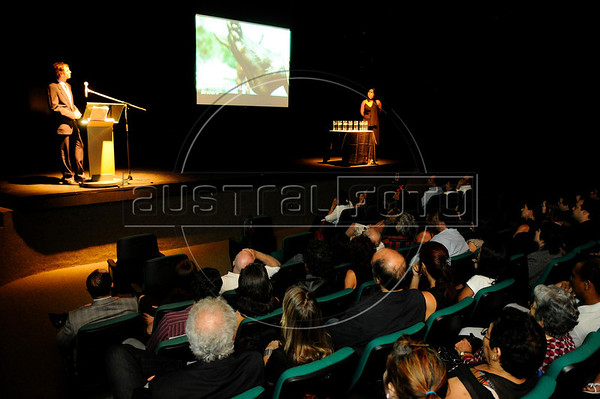 Cocteil e Ceremonia do Prêmio ACIE de Cinema Brasileiro no Centro Cultural Banco do Brasil, 5/4/2010.(Australfoto/Bruno de Lima)