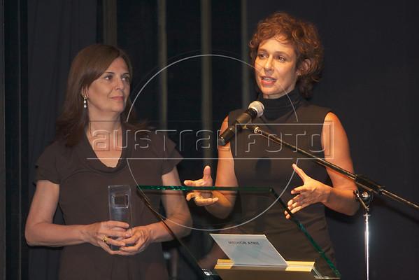 Cocteil e ceremonia do Prêmio ACIE da Cinema Brasileira, no Centro Cultural Branco do Brasil, 5/4/2010.(Australfoto/Douglas Engle)