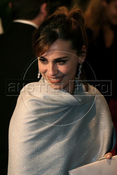 Brazilian actress Daniela Escobar arrives at the inauguration of the Rio Film Festival in Rio de Janeiro, Brazil, Sept. 22. 2005. More than 436 films from over 60 countries are part of the festival. (AustralFoto/Douglas Engle)
