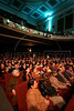 Movie-goers wait for a film of the Rio Film Festival to start in the Odeon Cinema in Rio de Janeiro, Brazil, Sept. 28. 2005. More than 436 films from over 60 countries are part of the festival.(AustralFoto/Douglas Engle)