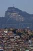Christ the Redeemer on the Corcovado mountain rises above a favela, or slum, in Rio de Janeiro, Brazil, September 23, 2001.(Douglas Engle/Australfoto)