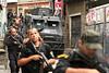 Dancing with the Devil production stills. Police raid in Complexo do Alemao (German Complex). (Australfoto/Douglas Engle)