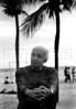 """Uruguayan writer Eduardo Galeano, author of """"Las venas abiertas de America Latina"""", """"Memorias del fuego"""", and others books, in Copacabana beach, Rio de Janeiro, Brazil, Nov. 26, 2005. (FOTO:AUSTRAL FOTO/RENZO GOSTOLI)"""
