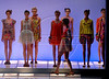 Models show designs of Maria Bonita Extra's 2009 spring/summer collection during the Fashion Rio Show, Rio de Janeiro, Brazil, June 6, 2009.  (Austral Foto/Renzo Gostoli)