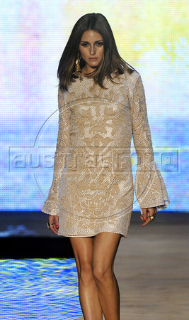 US model Olivia Palermo wears a creation by Coca Cola Clothing during the Fashion Rio Spring-Summer 2012 collection, Rio de Janeiro, Brazil, June 2, 2011. (Austral Foto/Renzo Gostoli)