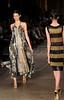 Models show designs of Sacada's 2012 spring/summer collection during the Fashion Rio Show, Rio de Janeiro, Brazil, May 22, 2012.  (Austral Foto/Renzo Gostoli)