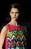 A model shows designs of Sacada's 2012 spring/summer collection during the Fashion Rio Show, Rio de Janeiro, Brazil, May 22, 2012.  (Austral Foto/Renzo Gostoli)