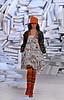 A model wears a design of Cantao's 2008 Autumn Winter collection during the Fashion Rio Show, Rio de Janeiro, Brazil, Jan. 10, 2008.  (AUSTRAL FOTO/RENZO GOSTOLI)