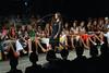 A model wears a design of Virzi's 2008 Autumn Winter collection during the Fashion Rio Show, Rio de Janeiro, Brazil, Jan. 10, 2008.  (AUSTRAL FOTO/RENZO GOSTOLI)