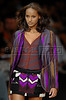 A model wears a design of Coven's 2008 Autumn Winter collection during the Fashion Rio Show, Rio de Janeiro, Brazil, Jan. 10, 2008.  (AUSTRAL FOTO/RENZO GOSTOLI)