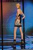 A model wears a design of Colcci's 2008 Autumn Winter collection during the Fashion Rio Show, Rio de Janeiro, Brazil, Jan. 8, 2008.  (AUSTRAL FOTO/RENZO GOSTOLI)