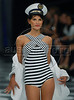 Brazilian top model Raica de Oliveira shows a design of TNG's 2009 spring/summer collection during the Fashion Rio Show, Rio de Janeiro, Brazil, June 9, 2008.  (Austral Foto/Renzo Gostoli)