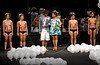 Models show designs of Totem's 2009 spring/summer collection during the Fashion Rio Show, Rio de Janeiro, Brazil, June 8, 2008.  (Austral Foto/Renzo Gostoli)