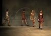 Models show designs of Homen de Barro's 2009 autumn/winter collection during the Fashion Rio Show, Rio de Janeiro, Brazil, January 12, 2009.  (Austral Foto/Renzo Gostoli)
