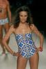 A model shows a design of Blue Man collection during the Claro Rio Summer Show, Rio de Janeiro, Brazil, November 6, 2008.  (Austral Foto/Renzo Gostoli)